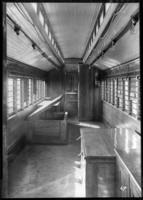 Brooklyn Rapid Transit car 697, undated [c. 1940]. Interior.