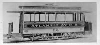 Atlantic Avenue railroad car 64, Brooklyn, undated. [Photo acquired January 27, 1940?]