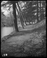 Path beside the river, Bronx Park, Bronx, N.Y., undated.