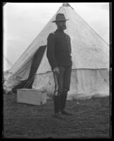 Battalion Adjutant Frederick Charles Ringer of the 22nd Regiment, Camp Black, May 14, 1898.