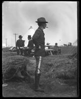 Lieutenant Louis A. Hamilton of the 22nd Regiment, Camp Black, May 14, 1898.