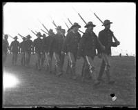 Going out on guard, Camp Black, May 14, 1898.