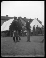 Inspection, Fort Slocum, New York, 1898.