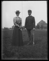 Mr. and Mrs. William A. Kenny, Fort Slocum, New York, 1898.