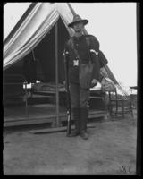 Corporal, Fort Slocum, New York, 1898.