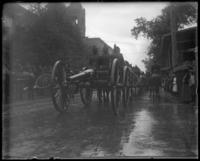 Cannon in a parade, Decoration Day, Bronx, N.Y., 1903 or 1909.