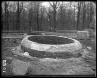 Pools for the bears under construction, New York Zoological Gardens [the Bronx Zoo], Bronx, N.Y., undated [c. 1899].