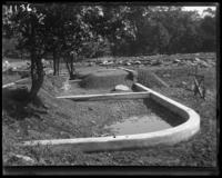 Grading the ground, New York Zoological Gardens [the Bronx Zoo], Bronx, N.Y., 1899.