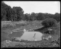 Filling and grading the ground, New York Zoological Gardens [the Bronx Zoo], Bronx, N.Y., 1899.