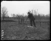 Surveyors at work, New York Zoological Gardens [the Bronx Zoo], Bronx, N.Y., 1899.