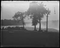Goat Island, with Horseshoe Falls beyond, Niagara Falls, undated [c. 1899-1904].