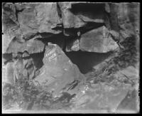 Ambush Rock and the Devil's Hole, Niagara Falls, undated [c. 1899-1904].