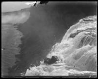 American Falls and the Rock of Ages, Niagara Falls, undated [c. 1899-1904].