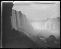 American and Horseshoe Falls,  Niagara Falls, undated [c. 1899-1904].