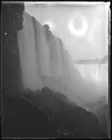 American Falls from below,  Niagara Falls, undated [c. 1899-1904].