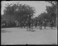 Colonel Bates and his staff in a Decoration Day parade, Bronx, N.Y., 1902.