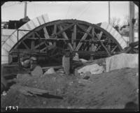 Stone arches during the construction of Jerome Park, Bronx, N.Y., undated [c. 1905-1906].