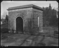 Stone valve house for the reservoir, Jerome Park, Bronx, N.Y., undated [c. 1905-1906].