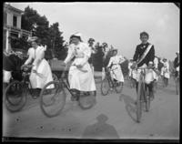 Bicycle parade, Bronx, N.Y., 1898.