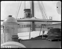Deck of the German royal yacht SMY Hohenzollern, New York City, undated [c.1902].