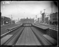 Tremont train station over Park Avenue, Bronx, N.Y., undated [c. 1902].