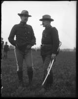 Lieutenant Colonel Grady and Major Stokes, 23rd Regiment, Creedmoor Rifle Range, Queens Village, Queens, N.Y., May 11, 1901.