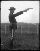 Lieutenant England, 23rd Regiment, Creedmoor Rifle Range, Queens Village, Queens, N.Y., May 11, 1901.