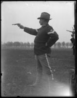 Color Sergeant Tucker, 23rd Regiment, Creedmoor Rifle Range, Queens Village, Queens, N.Y., May 11, 1901.