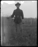 Bugler J. A. Prout, 23rd Regiment, Creedmoor Rifle Range, Queens Village, Queens, N.Y., May 11, 1901.