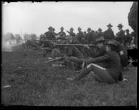 23rd Regiment National Guardsmen on the west range, Creedmoor Rifle Range, Queens Village, Queens, N.Y., May 11, 1901.