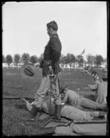 Lieutenant [?] of the 7th Regiment, Creedmoor Rifle Range, Queens Village, Queens, N.Y., May 11, 1901.