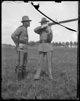 7th Regiment guardsmen at target practice, Creedmoor Rifle Range, Queens Village, Queens, N.Y., May 11, 1901.