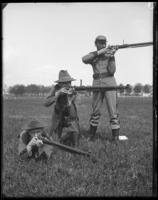 The three positions, 7th Regiment, Creedmoor Rifle Range, Queens Village, Queens, N.Y., May 11, 1901.