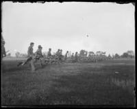 7th Regiment Company D running, Creedmoor Rifle Range, Queens Village, Queens, N.Y., May 11, 1901.