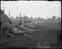 7th Regiment Company D, guns up, Creedmoor Rifle Range, Queens Village, Queens, N.Y., May 11, 1901.