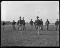 71st Regiment Company A, returning, Creedmoor Rifle Range, Queens Village, Queens, N.Y., May 24, 1902.