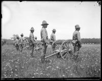 3rd Battery ready for inspection, Creedmoor Rifle Range, Queens Village, Queens, N.Y., June 28, 1902.