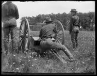 3rd Battery gun, Creedmoor Rifle Range, Queens Village, Queens, N.Y., June 28, 1902.