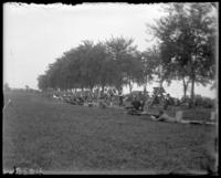 9th Regiment guardsmen and score keepers, Creedmoor Rifle Range, Queens Village, Queens, N.Y., August 13, 1904.