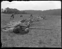 71st Regiment skirmish line, State Camp (Camp Smith), Peekskill, N.Y., June 1, 1901.