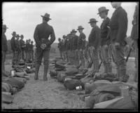 22nd Regiment, Company E receiving instructions, State Camp (Camp Smith), Peekskill, N.Y., June 2, 1900.