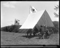 Signal corps at work, State Camp (Camp Smith), Peekskill, N.Y., June 13, 1903.