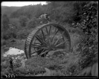 An old mill wheel, State Camp (Camp Smith), Peekskill, N.Y., June 16, 1903.