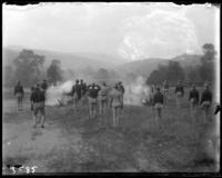 Firing a 2nd Battalion gun, State Camp (Camp Smith), Peekskill, N.Y., September 5-7, 1903.