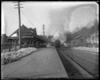 The railroad station, Garrison, N.Y., March 18, 1906.
