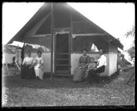 Camp E14, Orchard Beach, Bronx, N.Y., 1912.