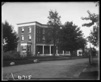 A New York University fraternity house, W. 183rd Street at Loring Place, Bronx, N.Y., undated [c. 1897-1918].