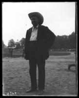A member [?] of the Suburban Baseball Team, Bronx, N.Y., undated [c. 1897-1918].