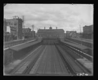 Train station located over the Park Ave Cut, Bronx, N.Y., 1903.