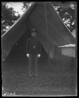 71st Regiment private, State Camp (Camp Smith), Peekskill, N.Y., June 1904.